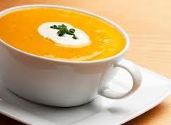 Σούπα από κίτρινη κολοκύθα